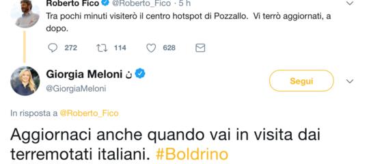 """Fico difende le Ong e chiede solidarietà, la rete lo copre d'insulti: """"Boldrino"""""""