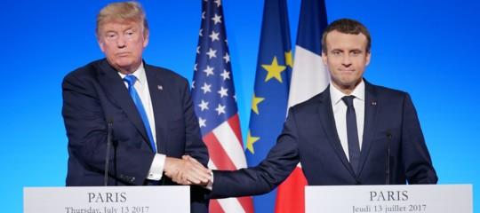 Trumpavrebbe suggerito aMacrondi lasciare la Ue