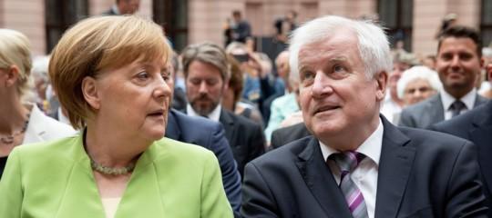 Germania governo Seehofer merkel