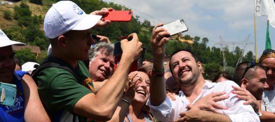 I quattro pilastri della strategia mediatica di Matteo Salvini