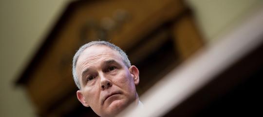 Usa: si è dimesso il ministro dell'Ambiente Scott Pruitt
