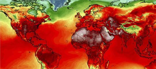 Da oggi (alla fine del secolo) le ondate di calore aumenteranno. Una mappa