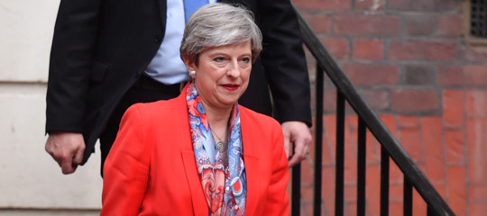Brexit: May vuole un'area di libero scambio con la Ue