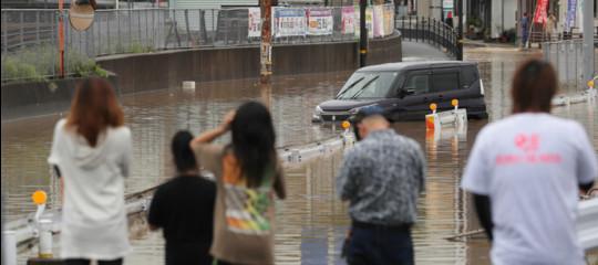 Giappone: piogge torrenziali flagellano il sud. 21 morti e 47 dispersi