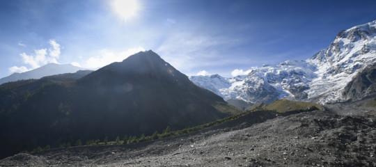 Alpinista muore precipitando per 600 metri sul Monte Rosa