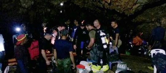 """Thailandia: condizioni """"perfette"""" per 3-4 giorni per evacuare ragazzi da grotta"""