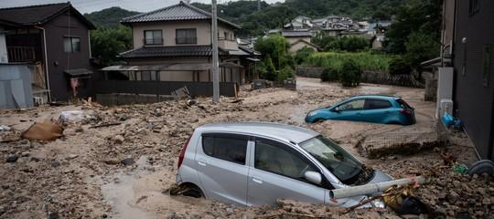 Giappone: sale a 57 il numero delle vittime per le alluvioni