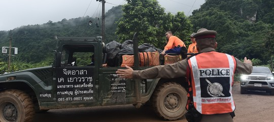 Thailandia: media locali, due ragazzi sono vicini all'uscita della grotta