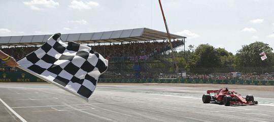 F1: GP Gran Bretagna, vince la Ferrari di Vettel