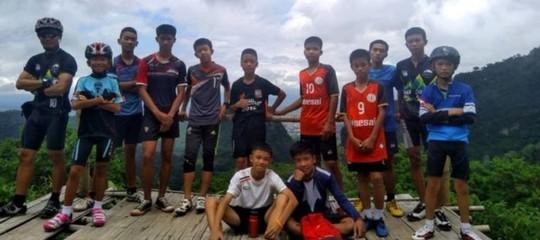 thailandia chi sono ragazzi intrappolati
