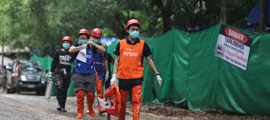 Thailandia: concluse per oggi operazioni di salvataggio, ultimi 5 ragazzi domani