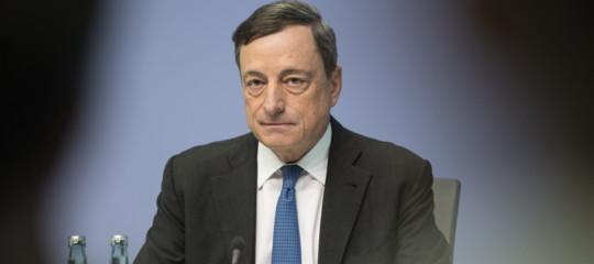 Draghi: rischi da protezionismo, serve Ue forte e unita