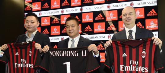 Ora LiYonghongvuole realizzare una 'plusvalenza' dalla sua uscita dal Milan