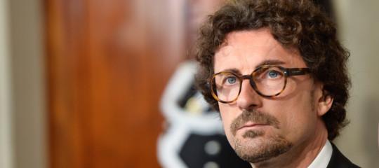 """Migranti: concluso vertice, Toninelli""""con Salvini siamo allineati"""""""