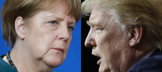 Nato: Merkel a Trump, la politica della Germania è libera