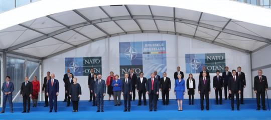 IncontroTrump-Merkela margine del summit Nato di Bruxelles