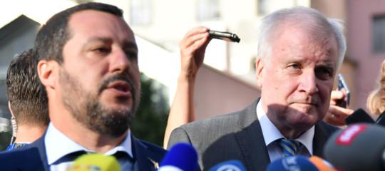"""Salvini: """"Non autorizzo nessuno a scendere dalla Diciotti"""""""