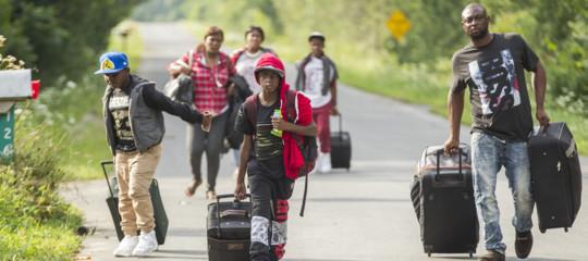 Migranti: cosa sta succedendo sullaRoxhamRoad, confine tra Canada e Usa