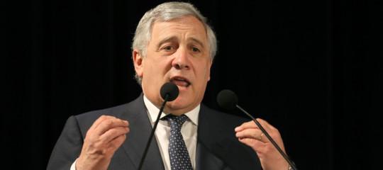 """Tajani attacca il governo: """"C'è clima non democratico"""""""