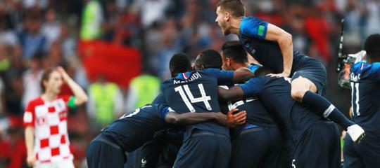 La Francia di Pogba e Mbappéè campione del mondo di calcio