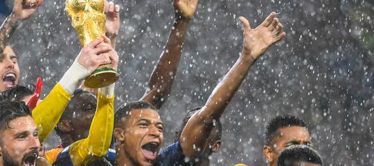 La Francia ha incassato 32,5 milioni per la vittoria dei Mondiali di calcio