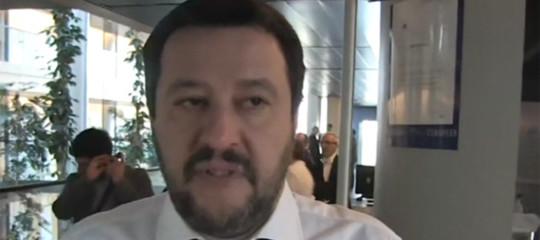 Salvini: no all'uscita dall'euro ma alcuni trattati vanno rivisti