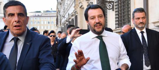 """Salvini: """"Non escludo il veto dell'Italia sulle sanzioni alla Russia"""""""