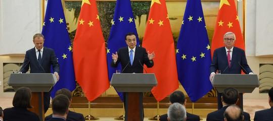 Così i dazi diTrumphanno spinto l'Europa nelle braccia di Pechino