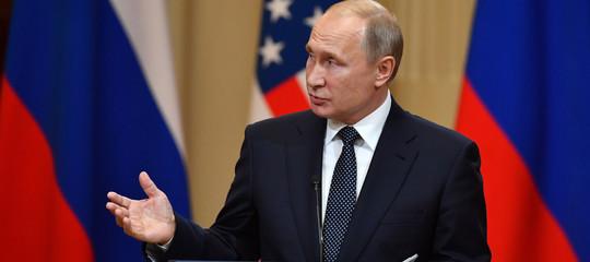 Russia-Usa,Putin: colloquio con Trump utile e in clima aperto