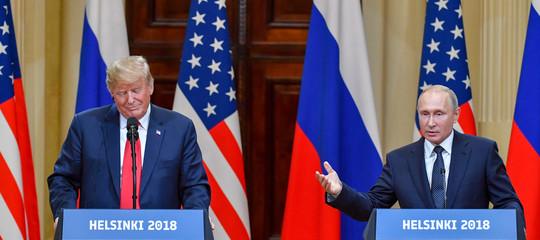 La conferenza stampa diTrumpePutin, punto per punto