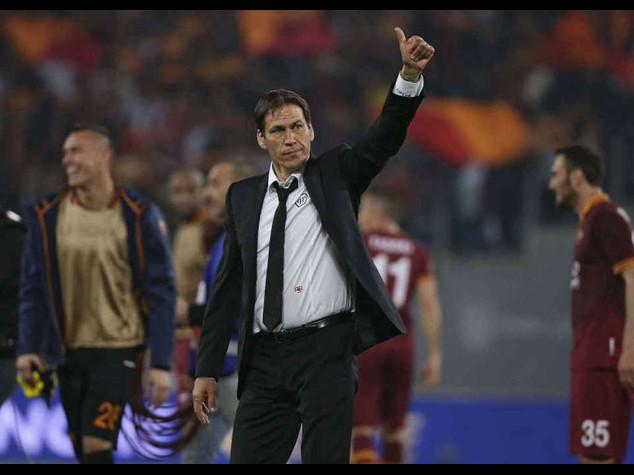Champions: in campo Roma-Cska Mosca 2-0