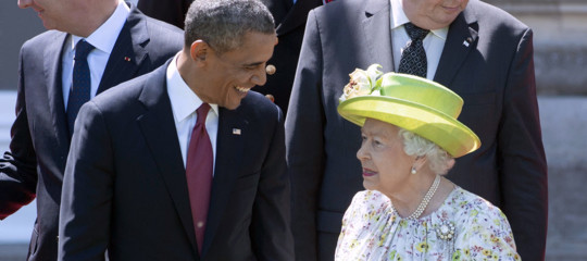 regina ElisabettaspillaObamaTrump