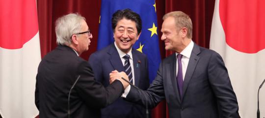accordo libero scambio Ue Giappone