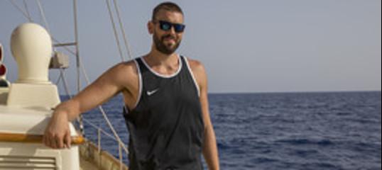 Il campionedell'Nbaa bordo della nave OpenArms