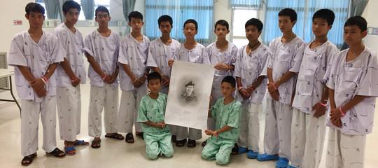 ragazzi thailandia wild boarscaverna