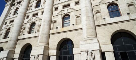 Borse europee aprono deboli dopoFed, Milano +0,08%