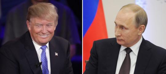 Trump invita Putin a Washington in autunno