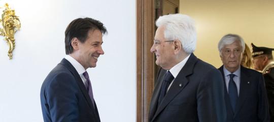 Governo: Conte da Mattarella, al centro Nato e dl proroghe