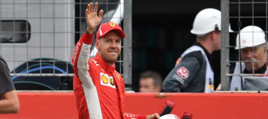 F1: Gp Germania, Vettel conquista pole dinanzi Bottas e Raikkonen