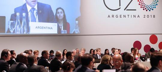 G20: le tensioni commerciali mettono a rischio la crescita globale