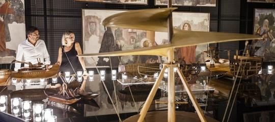 Leonardo da vinci mostra Parade
