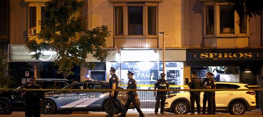 Sparatoria in un ristorante a Toronto. Due morti tra cui l'assalitore