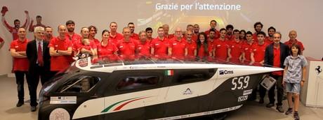 L'Italia trionfa all'American Solar Challenge