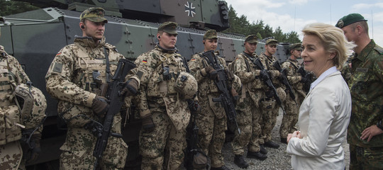 esercito tedesco arruola stranieri