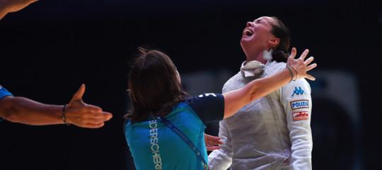 Scherma: Alice Volpi fioretto d'oro ai mondiali in Cina