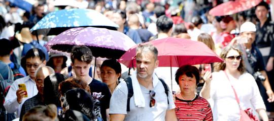 Giappone: caldo senza precedenti, 65 morti in una settimana