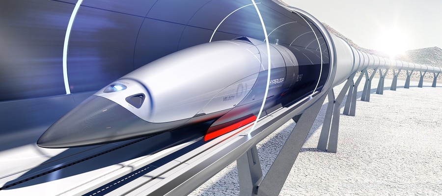 Un treno iperveloce made in italy collegher la cina con for Hyperloop italia