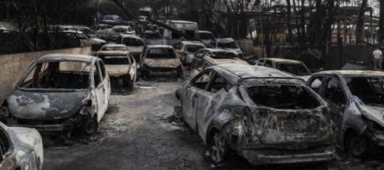 Grecia, pompieri: 79 le vittime degli incendi