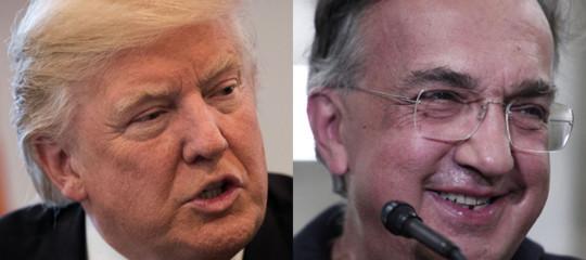Marchionne: Trump, tra i più brillanti dopo Henry Ford