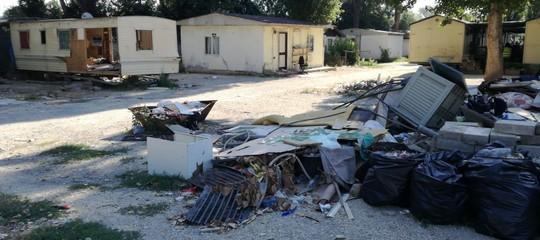 """Al via sgombero campo nomadi a Roma, Salvini """"legalità prima di tutto"""""""
